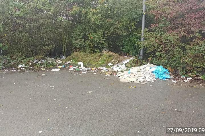 Müllkippe Köln Porz